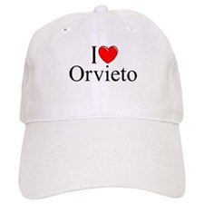 """I Love (Heart) Orvieto"" Baseball Cap"