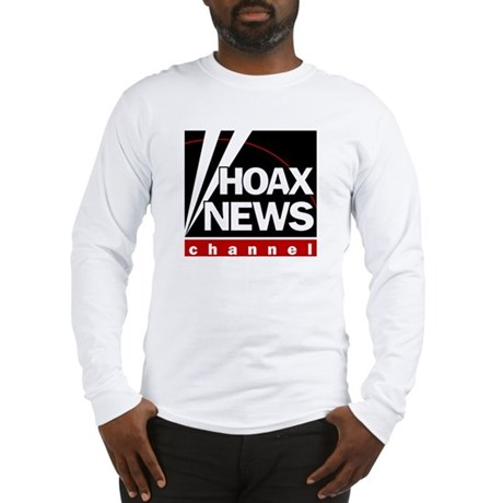 Hoax News Long Sleeve T-Shirt