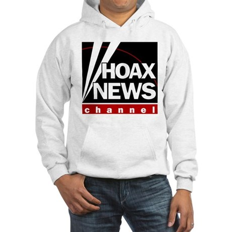 Hoax News Hooded Sweatshirt
