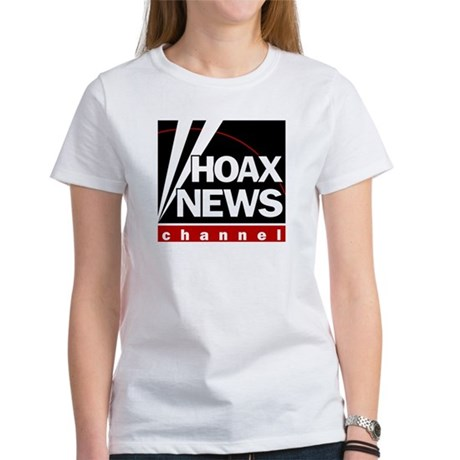 Hoax News Womens T-Shirt