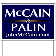 McCain / Palin Official Logo Yard Sign