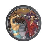 Salsa Time Smooth Salsa Wall Clock