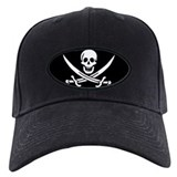 Pirate Captain Calico Jack Ra Baseball Cap