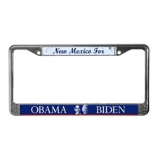 New Mexico for Obama License Plate Frame