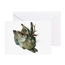 Wolpertinger Greeting Card