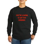 Night of the Living Dead Long Sleeve Dark T-Shirt