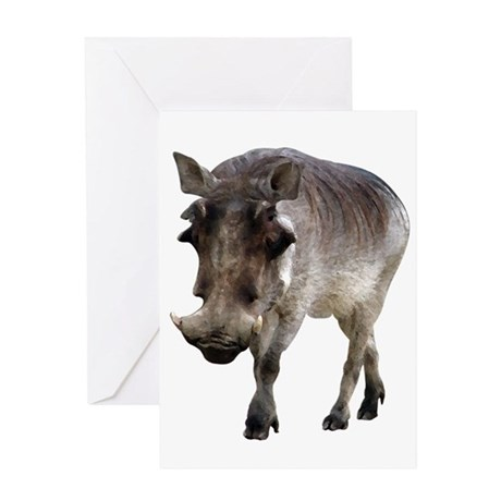 Warthog Greeting Card