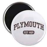 Plymouth Est 1620 Magnet