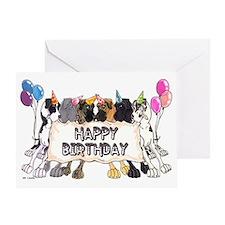 N6 Happy Bday Greeting Card
