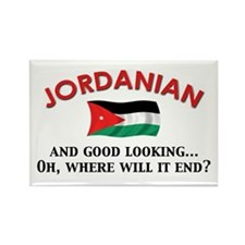 Good Looking Jordanian Rectangle Magnet (10 pack)