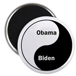 Obama-Biden Yin Yang Magnet