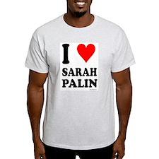 """""""I Love Sarah Palin"""" T-Shirt"""