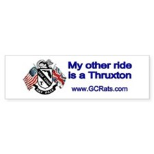 Thruxton Bumper Bumper Sticker