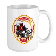 Tombstone Fire Department Large Mug