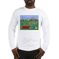 Agility Corgis Gone Wild! Pem Long Sleeve T-Shirt