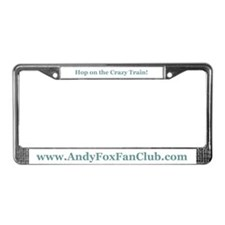 Funny Fan License Plate Frame
