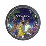 Salsa Time Noche de Salsa Wall Clock