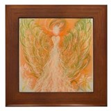 Manifestation Angel Framed Tile