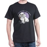 Real Men Walk Bichons T-Shirt