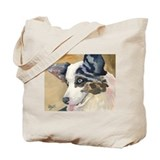 Cute Pembroke welsh corgi art Tote Bag