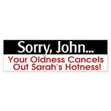 Sorry, John... Bumper Sticker (10 pk)