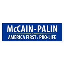 McCain Palin Bumper Sticker (10 pk)