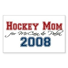 Soccer Moms for McCain / Pali Rectangle Decal
