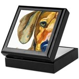 Unique Watercolor art Keepsake Box