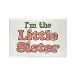I'm the Little Sister Rectangle Magnet (100 pack)