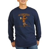 Hot dog Long Sleeve T-shirts (Dark)