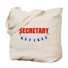 Retired Secretary Tote Bag