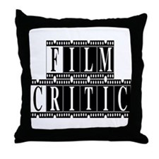 Film Critic Throw Pillow