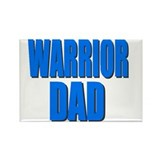 WARRIOR DAD Rectangle Magnet