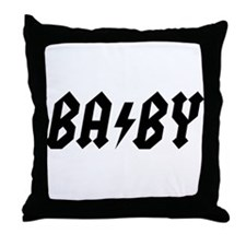 BA/BY Throw Pillow