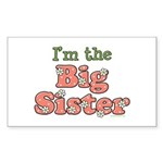 I'm the Big Sister Rectangle Sticker
