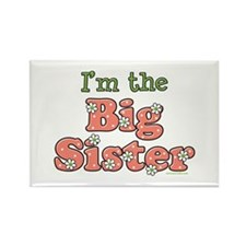 I'm the Big Sister Rectangle Magnet