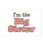 I'm the Big Sister Postcards (Package of 8)