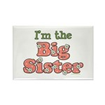I'm the Big Sister Rectangle Magnet (100 pack)