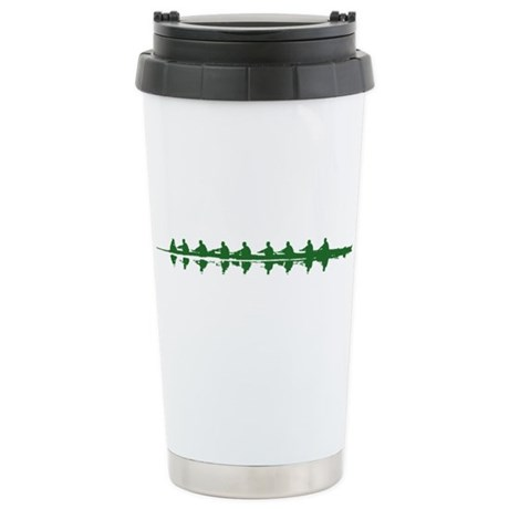 GREEN CREW Ceramic Travel Mug