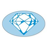 Diamond Oval Decal