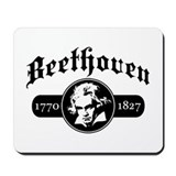Beethoven Mousepad