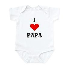 """""""I Love Papa"""" Infant Creeper"""