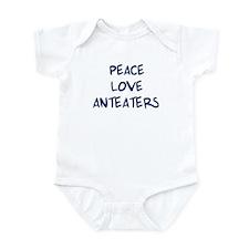 Peace, Love, Anteaters Infant Bodysuit