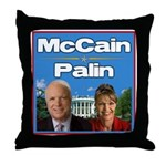 McCain Palin Throw Pillow
