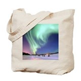 Aurora Borealis Tote Bag