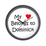 Dominick Wall Clock