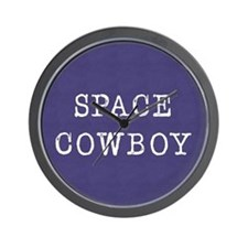 Space Cowboy Wall Clock