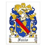 Fazio Family Crest Small Poster
