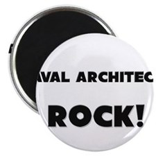 Naval Architects ROCK Magnet