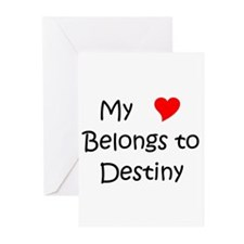 Cool Destiny Greeting Cards (Pk of 20)